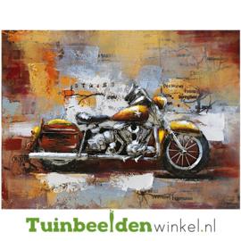 """Metalen schilderij """"De motor"""" TBW001305"""