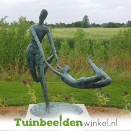 """Modern tuinbeeld """"Plezier"""" BBW52837br"""