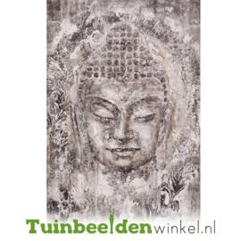 Olieverf schilderij ''Boeddha'' TBW006882