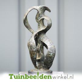 """Modern tuinbeeld """"Het abstracte hart"""" TBW52210br"""