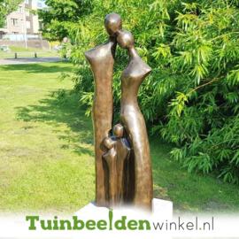 """Modern tuinbeeld """"Gezin met 2 kinderen"""" BBW2387br"""