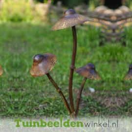 """Metalen figuur """"De drie paddenstoeltjes"""" TBW13098me"""