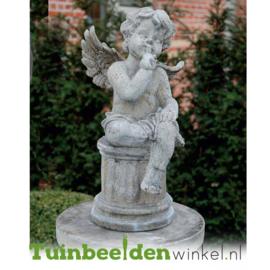 """Engelen beeld """"Stilte"""" op sokkel TWB3br236br"""