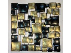 """Metalen figuur """"Wanddecoratie 4"""" TBW16136me"""