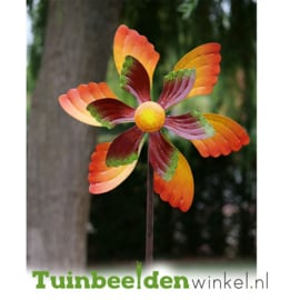 Metalen bloem ''De fleurige bloem'' TBW16073