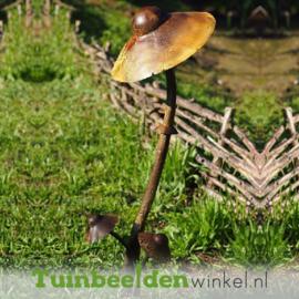 """Metalen figuur """"De mooie paddenstoelen"""" TBW13197me"""