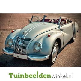 """Schilderij van RVS """"De Kever Cabriolet"""" TBW023sc"""