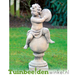 """Engelen beeld """"Muzikaal"""" op sokkel TWB3br234br"""