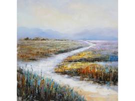 """Olieverf schilderij landschap """"Het juiste pad"""" TBW005704sc"""