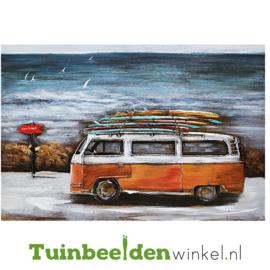 """Auto schilderij """"De surfers bus"""" TBW001170"""