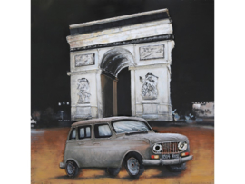 Metalen schilderij ''Arc de Triomphe'' TBW001839sc