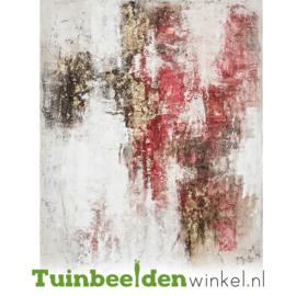 Abstract olieverf schilderij ''Perspectief'' TBW60031