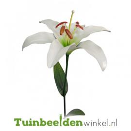 Metalen bloem ''Grote witte lelie'' Tbw0871pr108