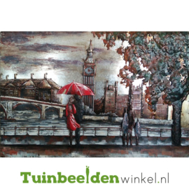 "3D schilderij ""Frisse avond in Londen"" TBW001361"