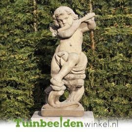 """Engelen beeld """"Muzikant engel"""" op sokkel TWB3br238br"""