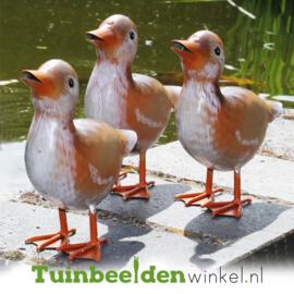 Dieren tuinbeeld ''De drie eendjes'' Tbw0871pr04