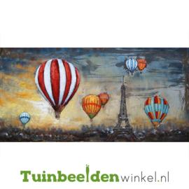 """3D schilderij """"Zweven over Parijs"""" TBW000640"""
