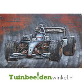 Auto schilderij ''Autocoureur'' TBW001465