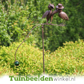 Tuinsteker balans ''De twee kraaien'' TBW17628