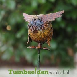 "Tuinsteker ""De kleine uil"" TBW14033me"