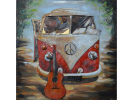 Metalen schilderij ''On the road'' TBW000815