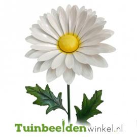 Metalen bloem ''Wit madeliefje'' Tbw0871pr104