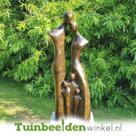 """Modern tuinbeeld """"Gezin met 3 kinderen"""" BBW2390br"""