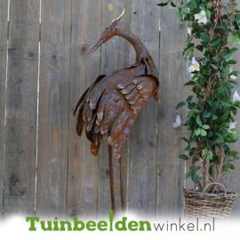 Metalen tuinbeeld figuur ''De reiger 2'' TBW89878