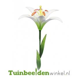 Metalen bloem ''Witte lelie'' Tbw0871pr109