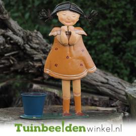 Metalen figuur ''Het mooie meisje'' TBW12109
