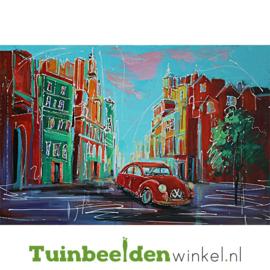 Olieverf schilderij ''De rode kever'' TBW006249