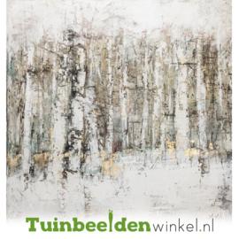 Olieverf schilderij landschap ''De wazige bomen'' TBW60030