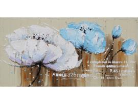"""Bloemen schilderij """"De bloemen 2"""" TBW4568sc"""
