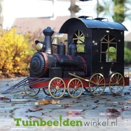 """Metalen figuur """"De locomotief"""" TBW13623me"""