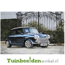 """Auto schilderij """"De klassieke mini"""" TBW001327"""