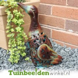 Dieren tuinbeeld ''De sierlijke eend'' Tbw0871pr05