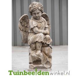 """Engelen beeld """"Rustige engel"""" op sokkel TWB3br231br"""