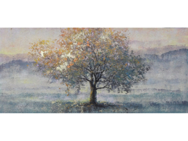 "Olieverf schilderij landschap ""Lonely tree"" TBW006431sc"