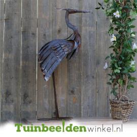 Metalen tuinbeeld figuur ''De reiger'' TBW89877