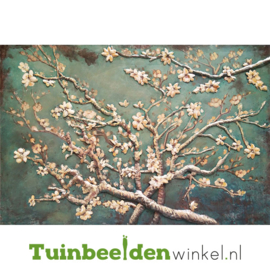 """Bloemen schilderij """"De amandelbloesem"""" TBW001255"""