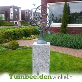 Bronzen zonnewijzer TBW0107br