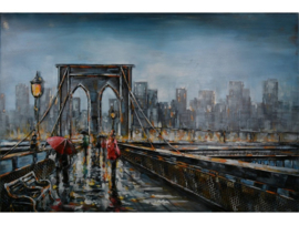 "3D schilderij ""Brooklyn Bridge"" TBW001362"