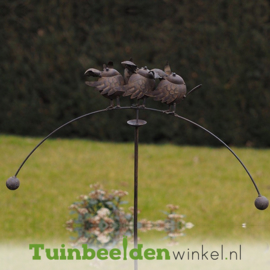 """Tuinsteker balans """"De jubelende vogeltjes"""" TBW18840me"""