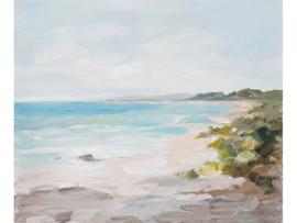 Olieverf schilderij landschap ''Strand'' TBW60035sc