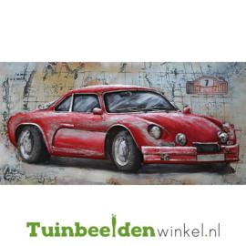 """Auto schilderij """"Rally Monte Carlo"""" TBW6012005sc"""