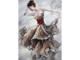 """Olieverf schilderij """"De danseres"""" TBW0072sc  120x80 cm"""