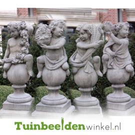"""Engelen beelden """"De vier seizoenen"""" op sokkel TWB3br319br"""