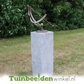 Equatoriale zonnewijzer brons TBW0386br