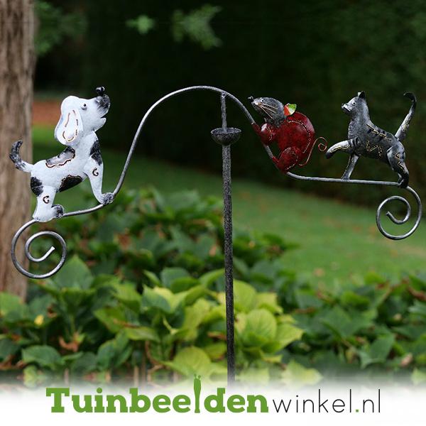 Tuinsteker balans ''In het nauw gedreven'' TBW16046