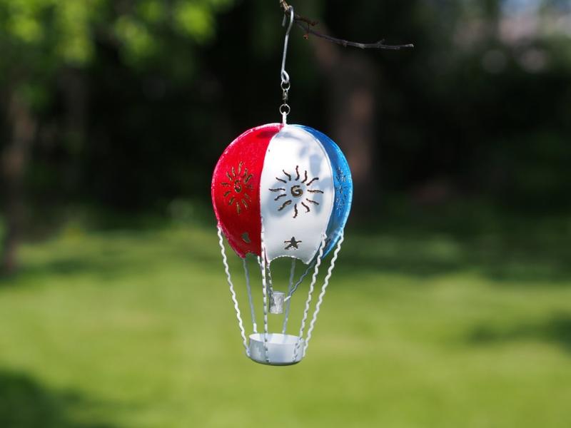 """Metalen figuur """"Luchtballon Nederland"""" TBW16150me"""